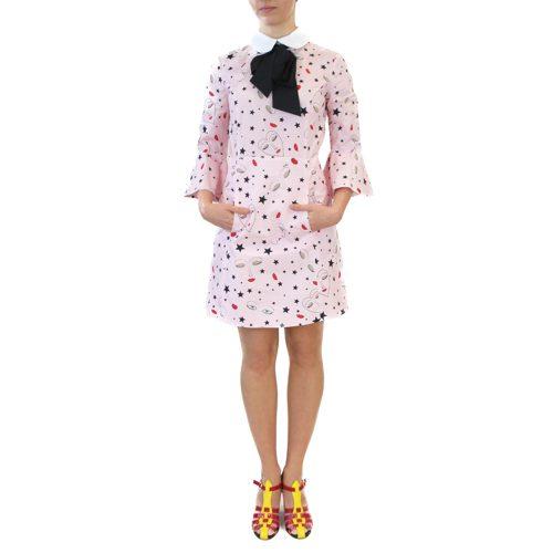 Abbigliamento VIVETTA - abito corto rosa con fiocco | OneMore (1)