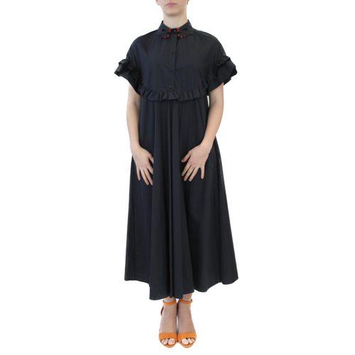 Abbigliamento VIVETTA - abito lungo | OneMore nero (1)