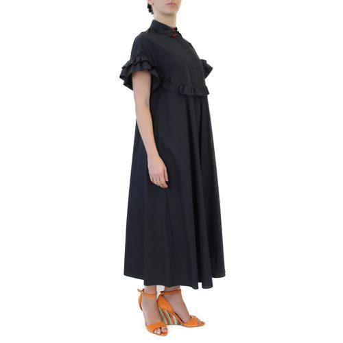 Abbigliamento VIVETTA - abito lungo | OneMore nero (2)