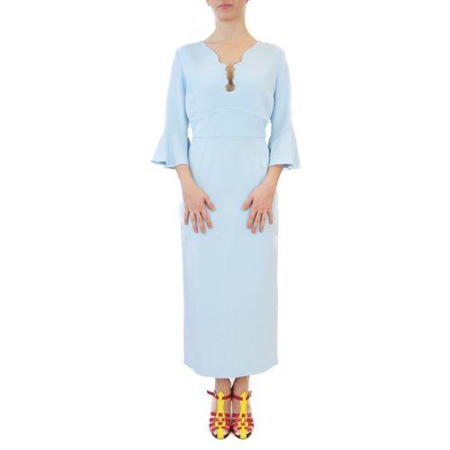 Abbigliamento VIVETTA - abito lungo azzurro | OneMore (1)