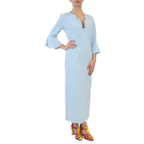 Abbigliamento VIVETTA - abito lungo azzurro | OneMore (2)
