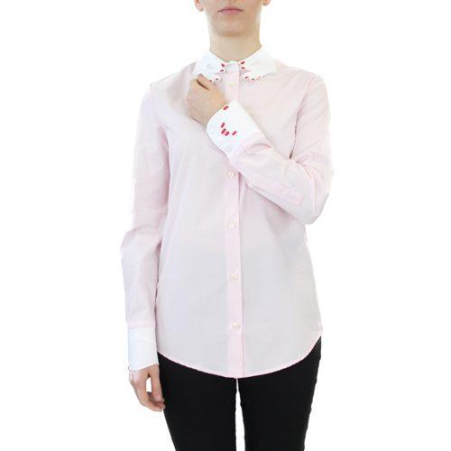 Abbigliamento VIVETTA - camicia dettaglio mani | OneMore rosa (1)