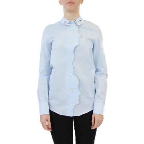 Abbigliamento VIVETTA - camicia dettaglio profilo | OneMore azzurro (1)