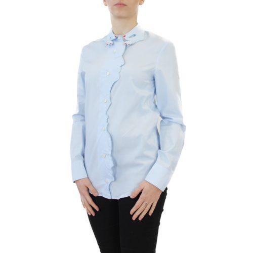 Abbigliamento VIVETTA - camicia dettaglio profilo | OneMore azzurro (2)