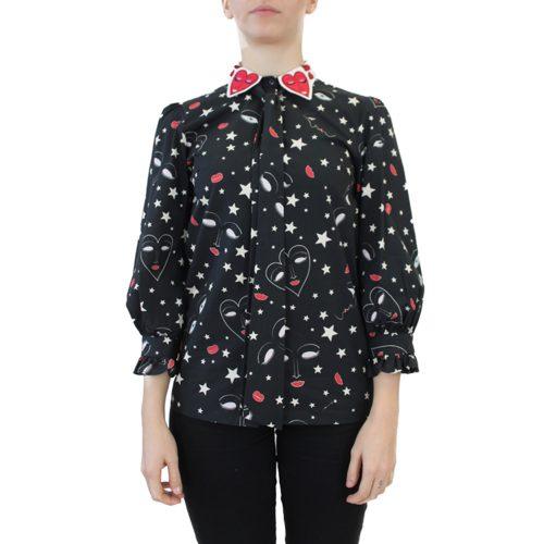 Abbigliamento VIVETTA - camicia manica 3:4 | OneMore colletto cuori (1)