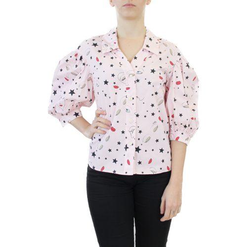 Abbigliamento VIVETTA - camicia manica 3:4 | OneMore rosa (1)