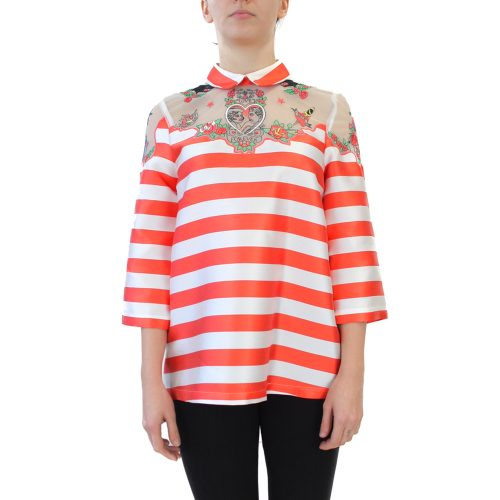 Abbigliamento VIVETTA - casacca a righe arancione | OneMore (1)