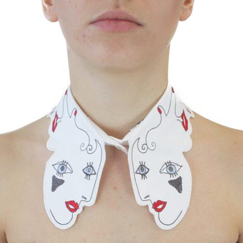 Abbigliamento VIVETTA - colletto | OneMore bianco (1)