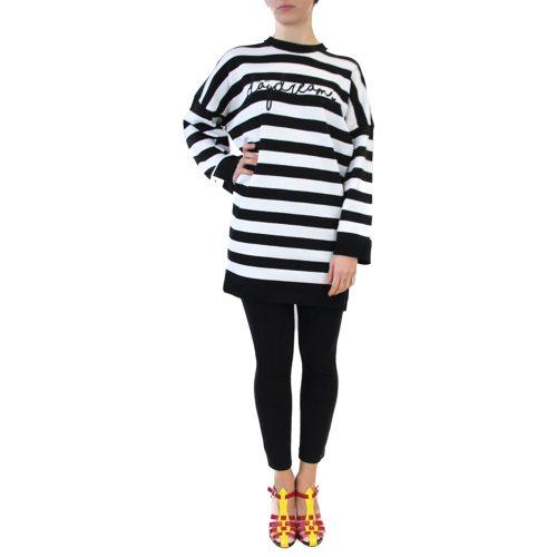 Abbigliamento VIVETTA - maglia over righe nero | OneMore (1)
