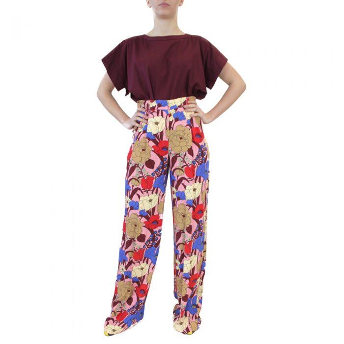 Abbigliamento VIVETTA - pantalone lungo | OneMore rosso (1)