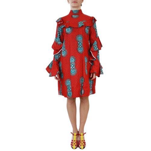 Abbigliamento STELLA JEAN - abito | OneMore rosso (1)
