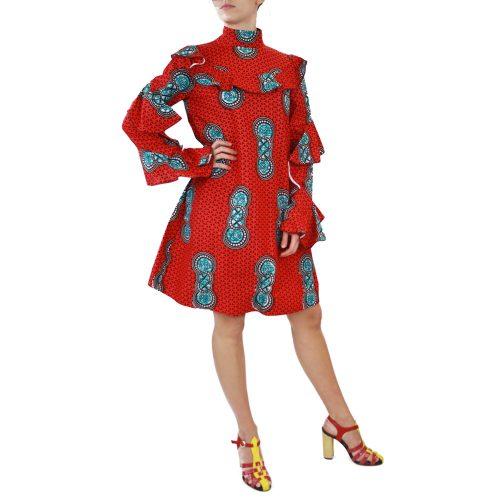Abbigliamento STELLA JEAN - abito | OneMore rosso (2)