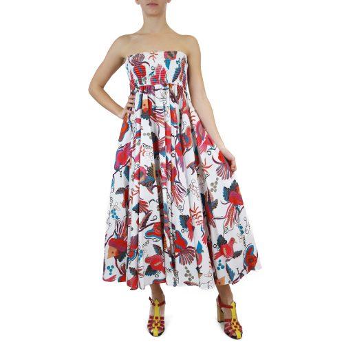 Abbigliamento STELLA JEAN - abito ampio | OneMore bianco (1)