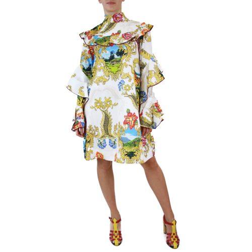 Abbigliamento STELLA JEAN - abito dettaglio volants | OneMore bianco (1)