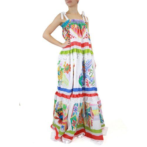 Abbigliamento STELLA JEAN - abito lungo | OneMore bianco (1)