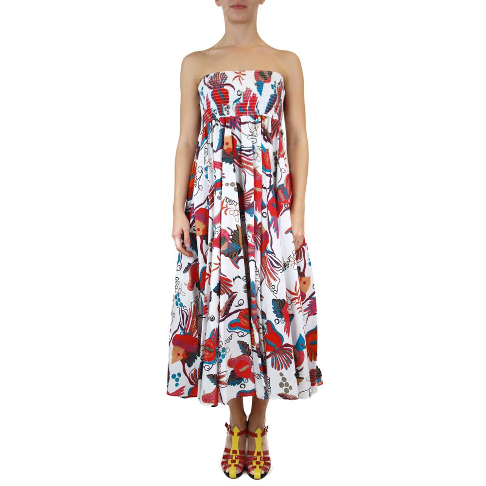 Abbigliamento STELLA JEAN - abito lungo | OneMore bianco (2)