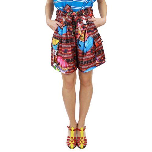 Abbigliamento STELLA JEAN - bermuda con pinces | OneMore rosso (1)