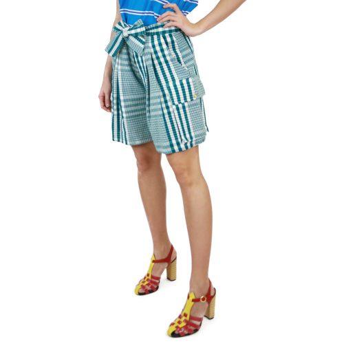 Abbigliamento STELLA JEAN - bermuda con pinces | OneMore verde (2)