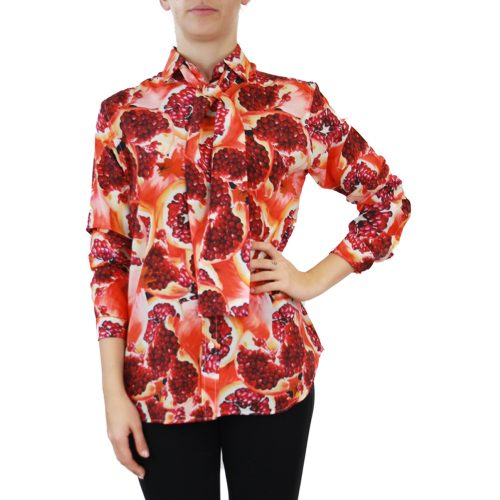 Abbigliamento STELLA JEAN - camicia con foulard | OneMore arancione melograno (1)