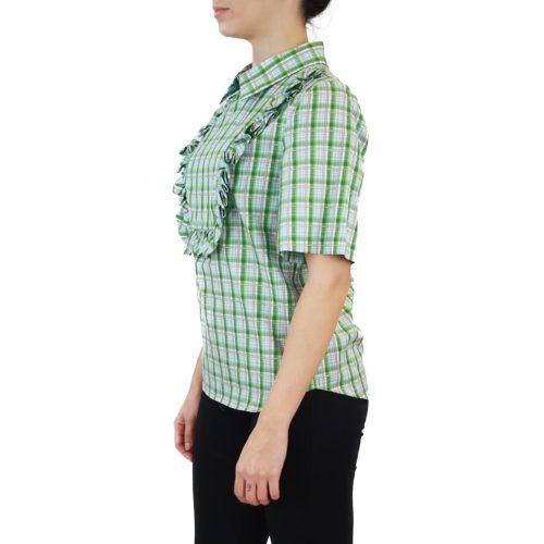 Abbigliamento STELLA JEAN - camicia dettaglio rouches | OneMore quadretti verde quadretti verde (2)