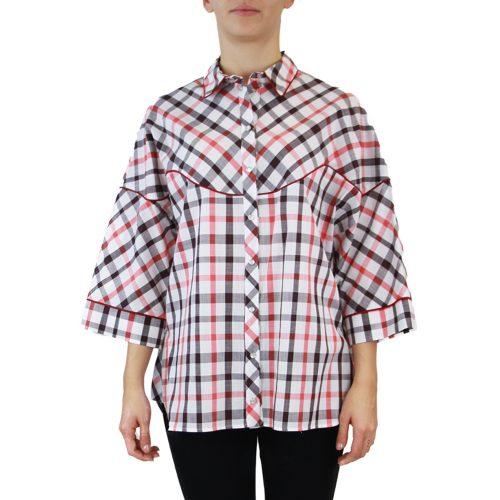 Abbigliamento STELLA JEAN - camicia manica 3:4 | OneMore quadretti (1)