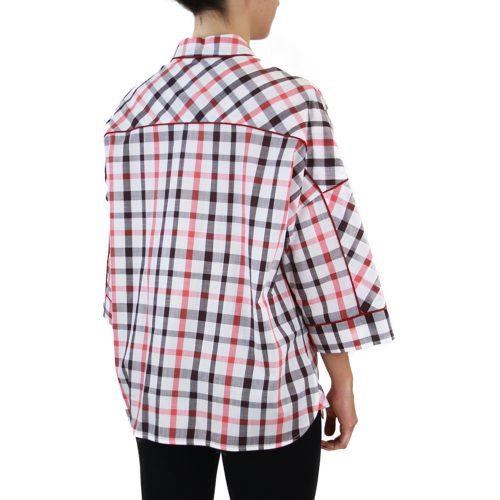 Abbigliamento STELLA JEAN - camicia manica 3:4 | OneMore quadretti (2)