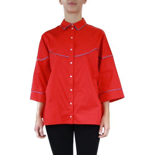 Abbigliamento STELLA JEAN - camicia manica 3:4 | OneMore rosso