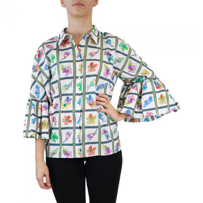 Abbigliamento STELLA JEAN - camicia manica kimono   OneMore bianco (1)