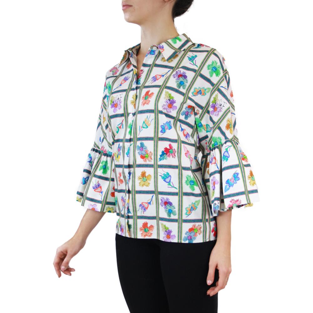 Abbigliamento STELLA JEAN - camicia manica kimono   OneMore bianco (2)