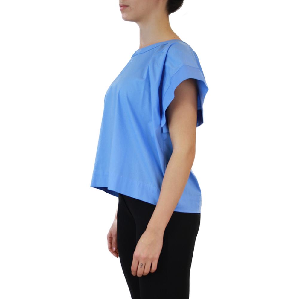 Abbigliamento STELLA JEAN - casacca girocollo | OneMore azzurro (2)