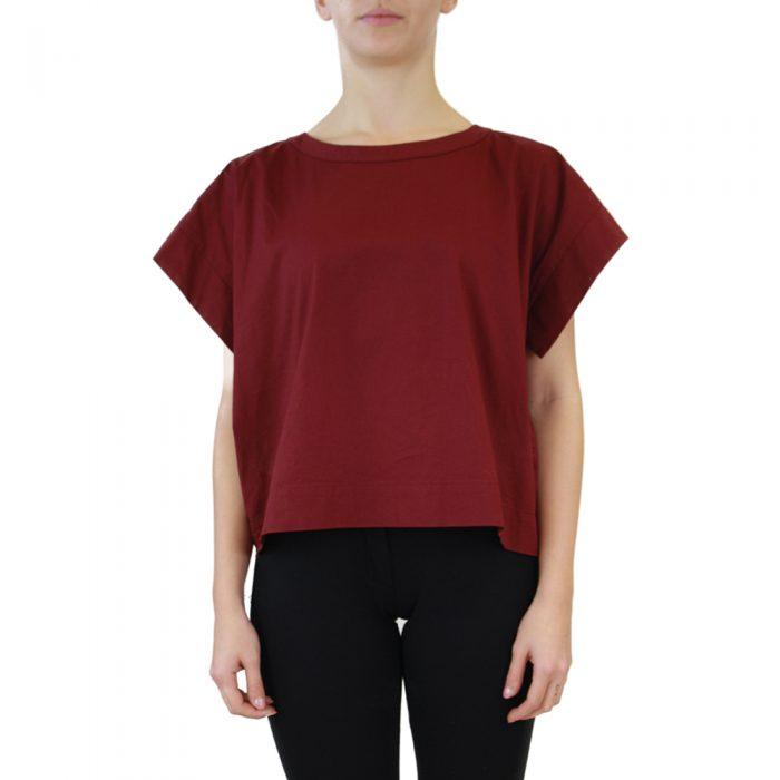 Abbigliamento STELLA JEAN - casacca girocollo | OneMore rosso (1)
