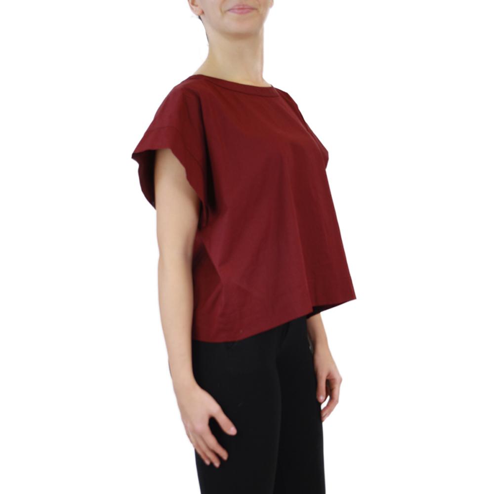 Abbigliamento STELLA JEAN - casacca girocollo | OneMore rosso (2)