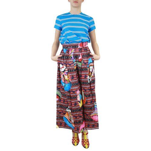 Abbigliamento STELLA JEAN - culotte macramè | OneMore rosso perù (1)