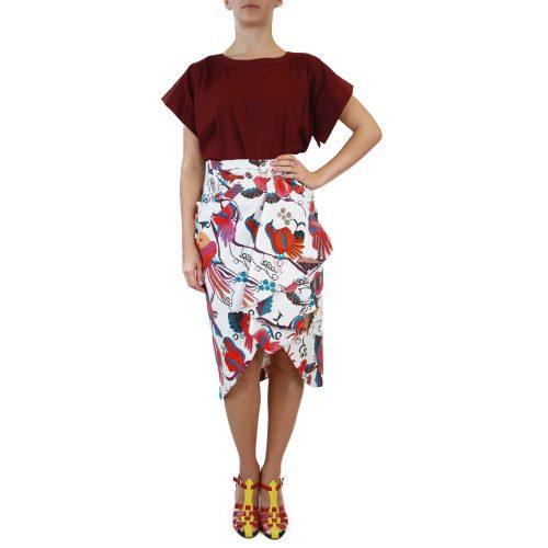 Abbigliamento STELLA JEAN - gonna | OneMore bianco fantasia (1)