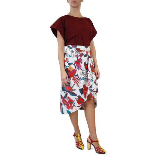 Abbigliamento STELLA JEAN - gonna | OneMore bianco fantasia (2)