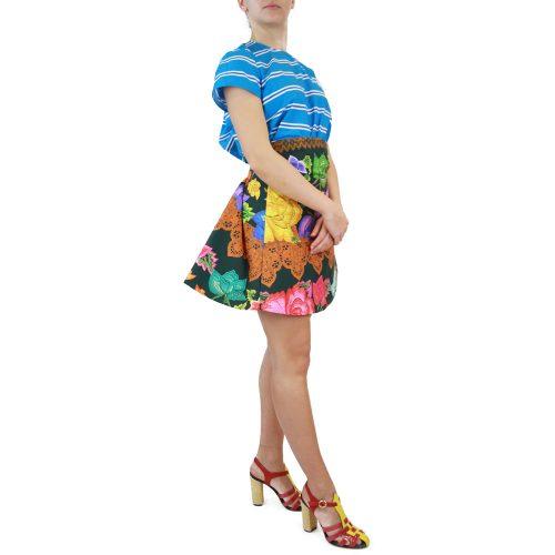Abbigliamento STELLA JEAN - gonna corta svasata | OneMore verde (2)