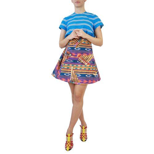 Abbigliamento STELLA JEAN - gonna corta svasata | OneMore viola (1)