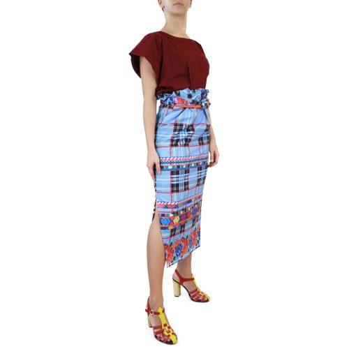 Abbigliamento STELLA JEAN - gonna lunga   OneMore azzurro (2)