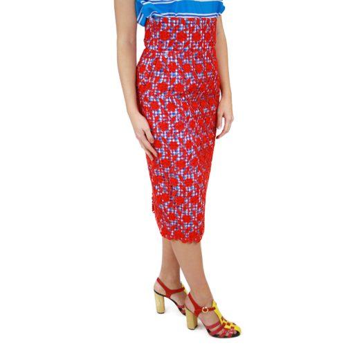Abbigliamento STELLA JEAN - gonna pizzo | OneMore rosso (2)