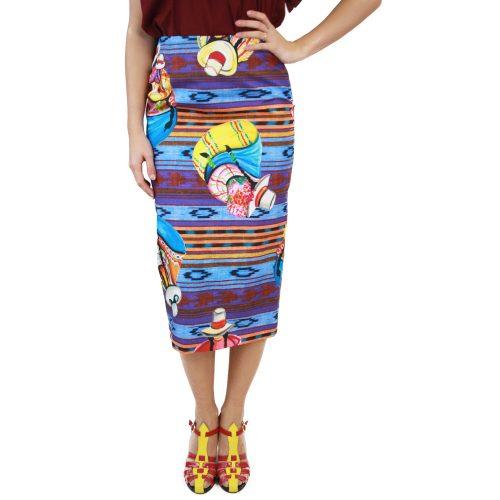 Abbigliamento STELLA JEAN - gonna tubo | OneMore azzurro (1)