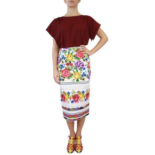 Abbigliamento STELLA JEAN - gonna tubo | OneMore bianco (1)
