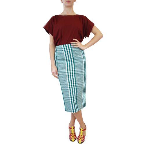 Abbigliamento STELLA JEAN - gonna tubo | OneMore verde (1)