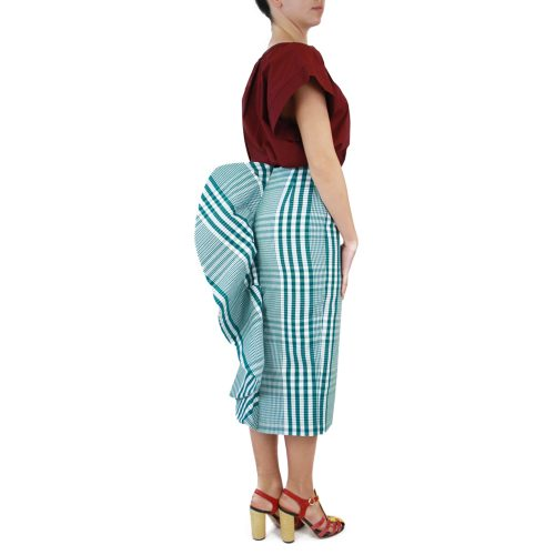 Abbigliamento STELLA JEAN - gonna tubo | OneMore verde (2)