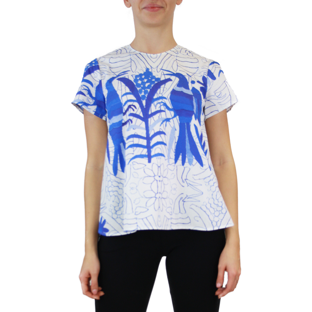 Abbigliamento STELLA JEAN - maglia girocollo   OneMore blu (1)