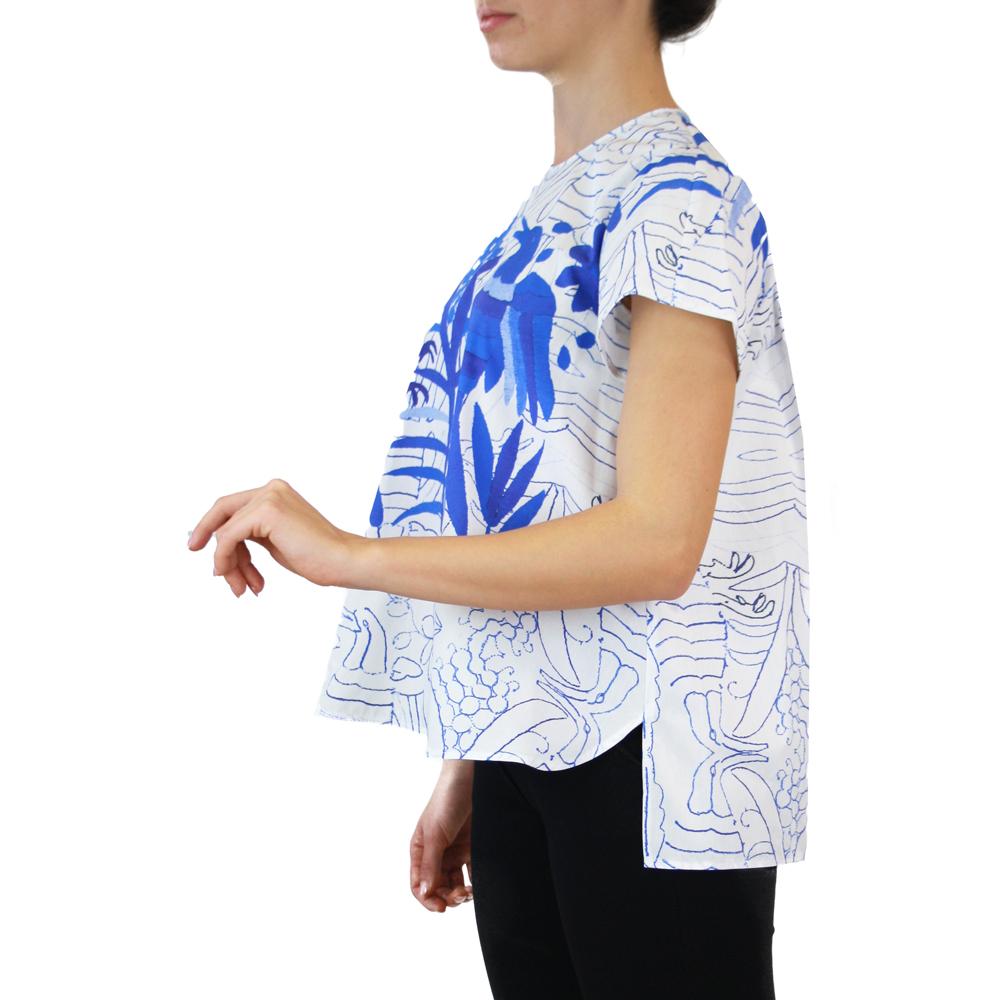 Abbigliamento STELLA JEAN - maglia girocollo   OneMore blu (2)