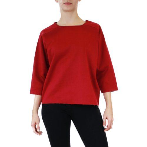 Abbigliamento STELLA JEAN - maglia manica 3:4 | OneMore bordeaux
