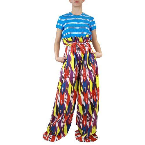 Abbigliamento STELLA JEAN - pantalone a palazzo | OneMore viola (1)