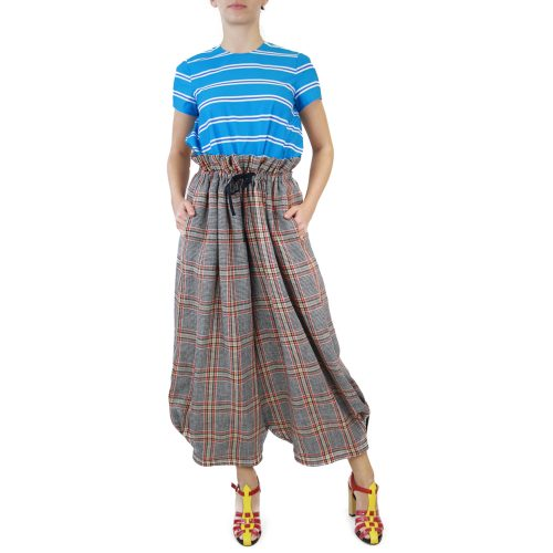 Abbigliamento STELLA JEAN - pantalone alla zuava | OneMore grigio (1)