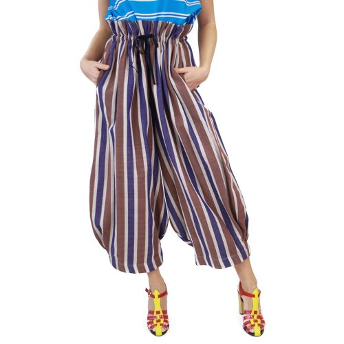 Abbigliamento STELLA JEAN - pantalone alla zuava | OneMore viola (1)