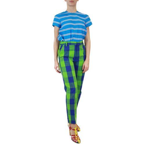 Abbigliamento STELLA JEAN - pantalone capri | OneMore quadri verdi (2)
